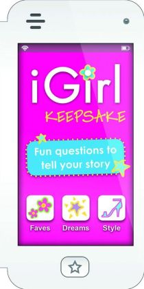 iGirl: Keepsake: Fun Questions to Tell Your Story