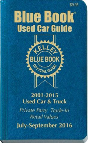 Kelley Blue Book Consumer Guide Used Car Edition: Consumer Edition July - September 2016