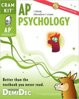 AP Psychology Cram Kit: A Last-Minute Study Guide for the AP Psychology Exam
