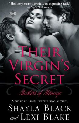 Their Virgin's Secret: Masters of Menage, Book 2