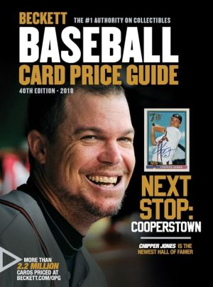 Beckett Baseball Card Price Guide No. 40: 2018 Edition