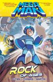 Book Cover Image. Title: Mega Man 5:  Rock of Ages, Author: Ian Flynn