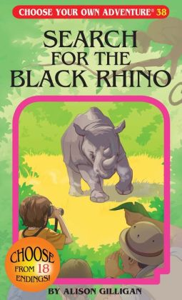 Search for the Black Rhino (Choose Your Own Adventure Series)