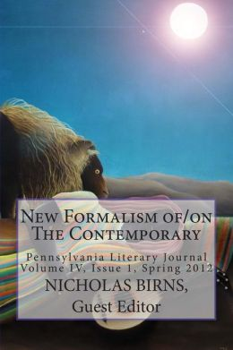 New Formalism of/on the Contemporary: Pennsylvania Literary Journal
