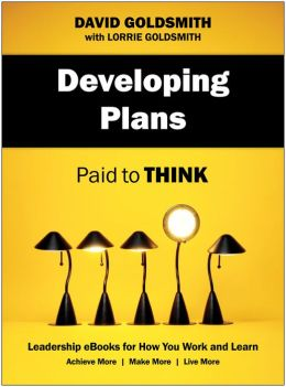 Developing Plans: Paid to Think