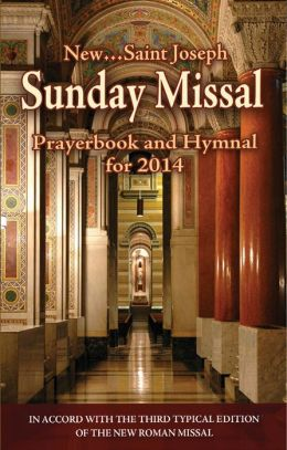 St. Joseph Sunday Missal & Hymnal for 2014