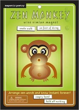 Zen Monkey: Wise Simian Magnets