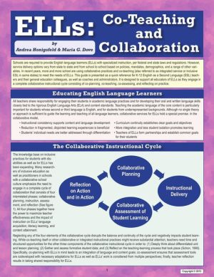 ELLs: Co-Teaching and Collaboration