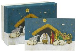Oh Holy Night Christmas Boxed Card