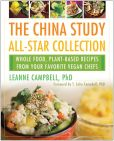 Book Cover Image. Title: The China Study All-Star Collection:  Whole Food, Plant-Based Recipes from Your Favorite Vegan Chefs, Author: LeAnne Campbell