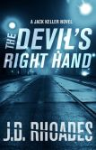 Book Cover Image. Title: The Devil's Right Hand, Author: J.D. Rhoades