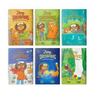 Book Zoey and Sassafras Books 1-6 Pack
