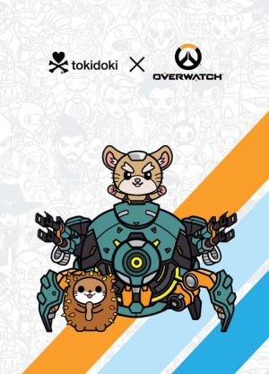 Book Overwatch Tokidoki X Series 3 Notebook: Wrecking Ball Theme