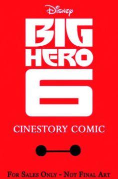 Disney Big Hero 6 Cinestory Retro Collector Edition