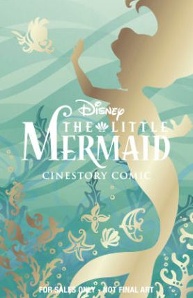 Disney The Little Mermaid Cinestory Comic - Collector's Edition Softcover