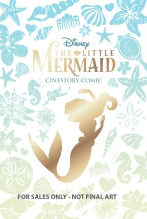 Disney The Little Mermaid Cinestory Comic - Collector's Edition Hardcover