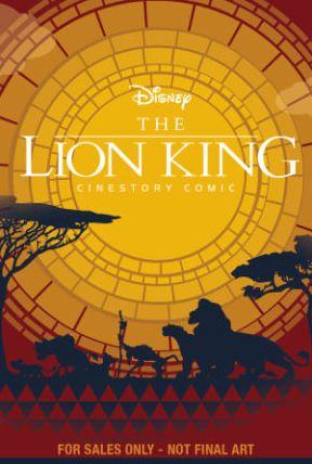 Disney Lion King Cinestory Comic - Collector's Edition Hardcover