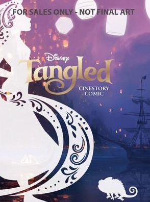 Disney Tangled Cinestory Comic - Collector's Edition Hardcover