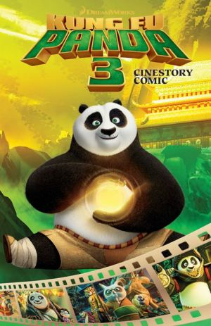 Dreamworks Kung Fu Panda 3 Cinestory: Graphic Novel Adaptation