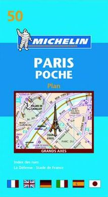 Michelin Paris Plan Pocket Map