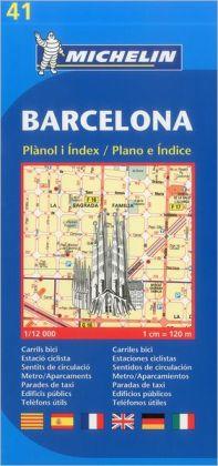 Michelin Barcelona Street Map #41