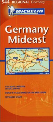 Mideast Germany Map