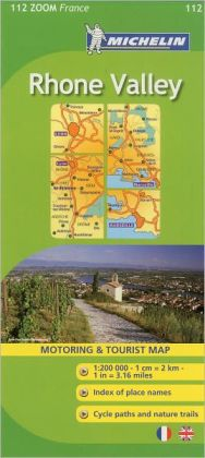 Michelin Map ZOOM France: Rhone Valley Map No. 112
