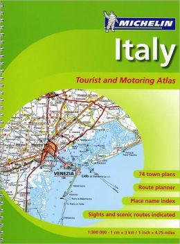 Italy Tourist and Motoring Atlas