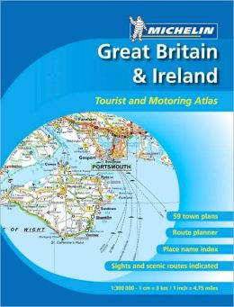 Great Britain/Ireland Tourist & Motoring Atlas