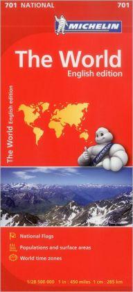 Michelin World Map 701