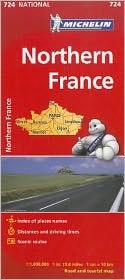 Michelin France, North Map 724