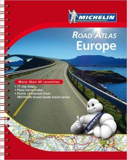 Michelin Road Atlas Europe