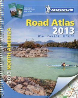 Michelin North America Road Atlas 2013