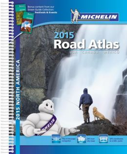 Michelin North America Road Atlas 2015