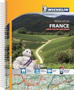Michelin France Atlas Spiral