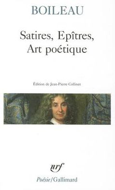 Satires, Epitres, Art Poetique