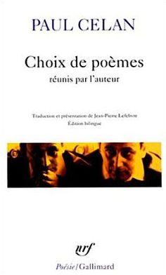 Choix de Poemes Celan