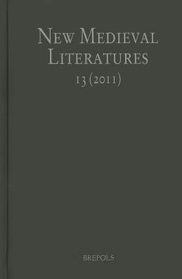 New Medieval Literatures 13 (2011)