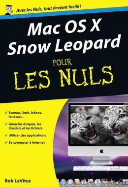 Mac OS X Snow Leopard Poche pour les nuls
