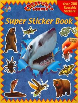 Creature's Corner: Super Sticker Book