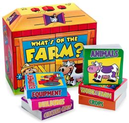 What's on the Farm Boxed Set: Equipment/Crops/Buildings/Chicken Coop/Work on the Farm/Animals
