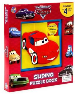 Disney/ Pixar The World of Cars Sliding Puzzle Book