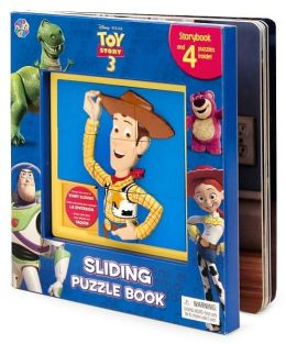 Disney/Pixar Toy Story 3 Sliding Puzzle Book