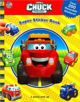 Tonka Chuck and Friends Super Sticker Book