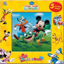 Mickey Mouse Clubhouse Puzzle Book