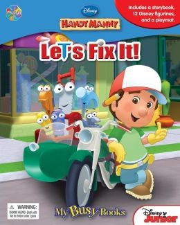 Handy Manny Busy Book