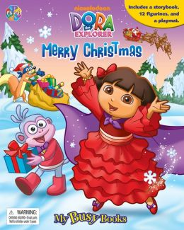 Dora Christmas (Busy Book)
