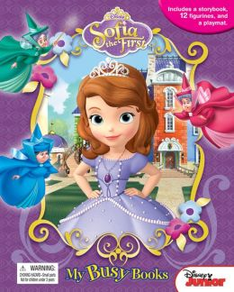 DISNEY SOFIA THE FIRST MY BUSY BOOKS