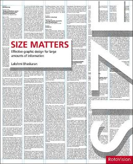 Size Matters: Effective graphic design for large amounts on information