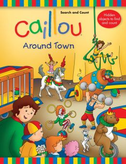 Caillou, Search and Count - Around Town